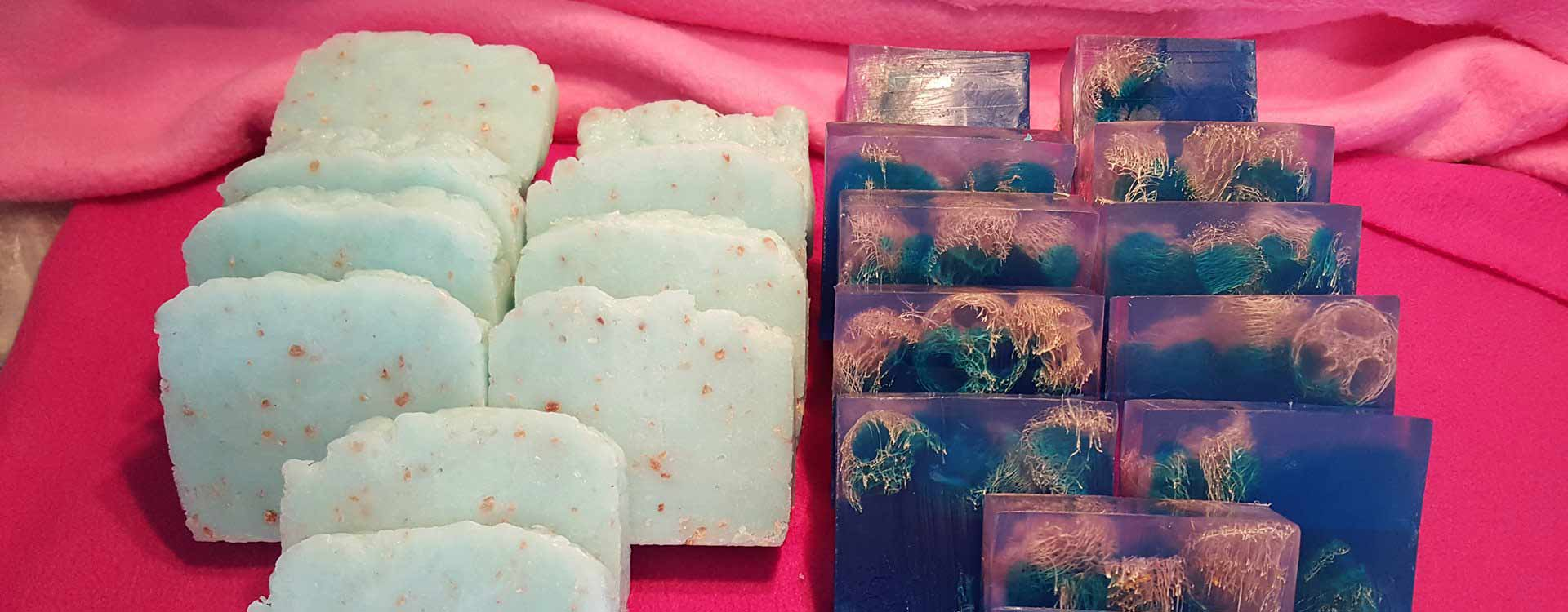 Handmade soaps, finest essential oils and wax
